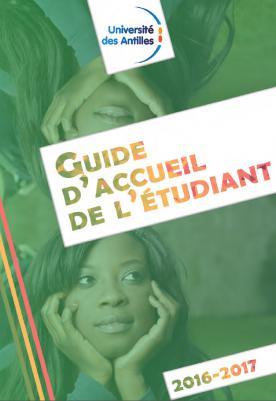 Guide d'accueil de l'étudiant 2016-2017 UA