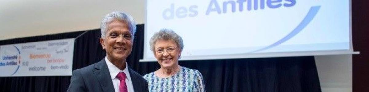 Visite de Madame le Professeur Françoise BARRÉ SINOUSSI